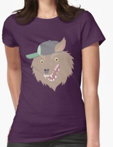 THE Party God Wolf Womens Fitted T-Shirt