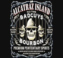 Alcatraz Island BadGuys Bourbon Label T-Shirt
