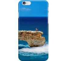 Photographing on the edge iPhone Case/Skin