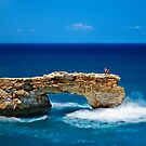 Photographing on the edge by Hercules Milas