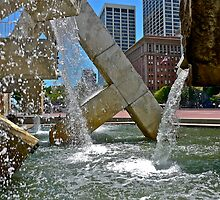 Fountain At Embarcadero by Scott Johnson