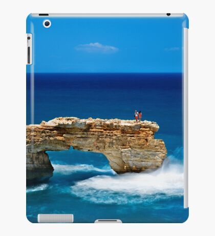 Photographing on the edge iPad Case/Skin
