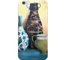 Decorative jugs still life iPhone Case/Skin