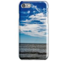 Beach and Blue Sky iPhone Case/Skin