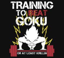 Vegeta Saiyan - Training to Beat Goku by mluata