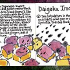 Illustrated Recipe: Candied Sweet Potatoes by dosankodebbie