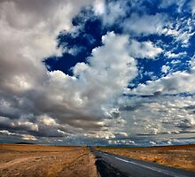 The road to Soganli by Hercules Milas