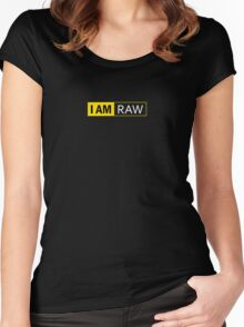 I AM RAW Women's Fitted Scoop T-Shirt