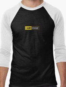 I AM RAW Men's Baseball ¾ T-Shirt