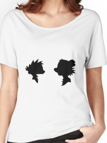 Calvin and Hobbes Silhouette Women's Relaxed Fit T-Shirt