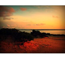 Sunset at Jockey's Ridge Photographic Print