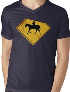 [Sleepy Hollow] - The Headless Horseman Mens V-Neck T-Shirt