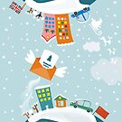 merry xmas 7 by Anastasiia Kucherenko