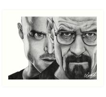 Breaking Bad (Chemical Corruption) Art Print