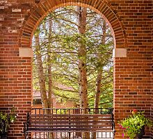 Arch in Allegan, Michigan by Robert Kelch, M.D.