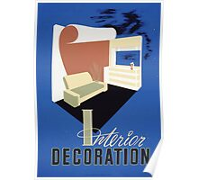 WPA United States Government Work Project Administration Poster 0075 Interior Decoration Poster