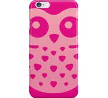 Cute Pink Baby Owl iPhone Case/Skin