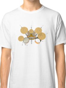 Drum Kit: Top View Classic T-Shirt