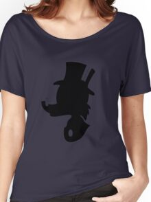 Scrooge McDuck Silhouette Women's Relaxed Fit T-Shirt