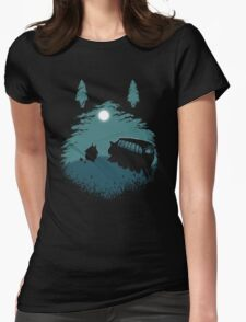 Walking Home Womens Fitted T-Shirt