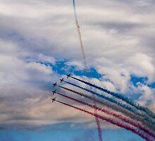 Red Arrows 3 by Jack Steel