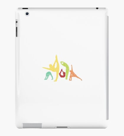 Yoga Asanas iPad Case/Skin