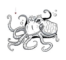 Octopus Doctor Photographic Print