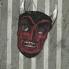 Naughty Little Devil Mask by Paul Compton