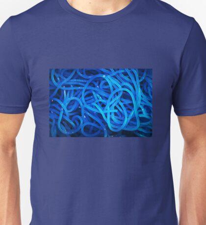 Blue pasta Unisex T-Shirt