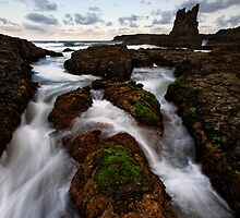 Flowy Cathedral Channels by Robert Mullner