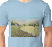 Cornfield & Poppies, Dordogne, France Unisex T-Shirt