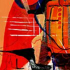 Anthropomorphism 01 Red series. by Michael West