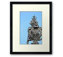 He Knows Framed Print