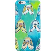 Watercolour Budgies iPhone Case/Skin