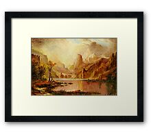 Autumn in Yellowstone Park Framed Print