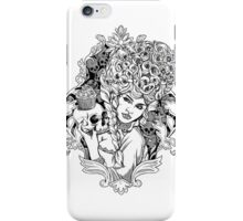 Marie Antoinette - Let Them Eat Cake Illustration iPhone Case/Skin