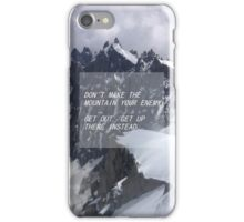 florence and the machine mountain lyrics iPhone Case/Skin