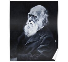 Darwin Oil Painting Poster