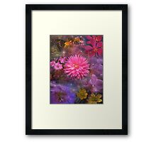Flowers - A Visual Bouquet for Mom Framed Print