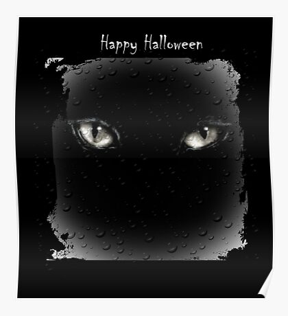 Halloween Eyes Poster