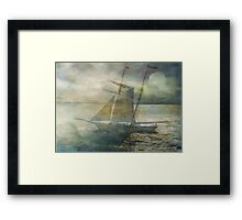 Sailing to the Moon Framed Print