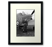 WW2 RAF Hurricane Fighter Plane Framed Print