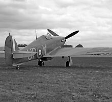 WW2 RAF Hurricane Fighter Plane by chris-csfotobiz