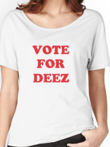 Retro Vote For Deez Nuts 2016 Women's Relaxed Fit T-Shirt