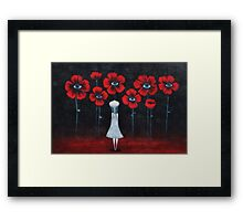 Look and....see Framed Print