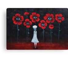 Look and....see Canvas Print