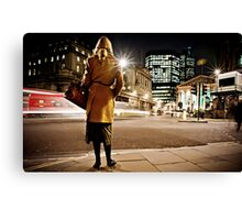 I want to go home... TAXI! Canvas Print