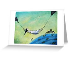 Outdoor living Greeting Card
