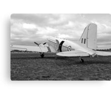 Douglas DC3 Transport Plane Canvas Print