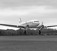 Douglas DC3 Transport Plane by Chris L Smith